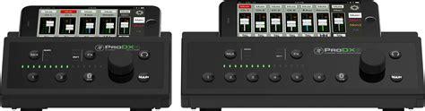 Mixer Wireless mackie introduces prodx wireless digital mixers mixonline