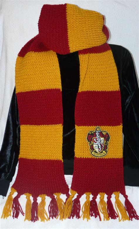 knitting pattern hogwarts scarf unavailable listing on etsy