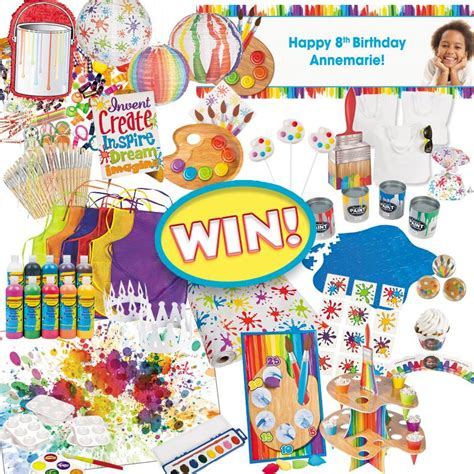 Oriental Trading Giveaway - oriental trading little artist partybox prize pack giveaway thrifty momma ramblings