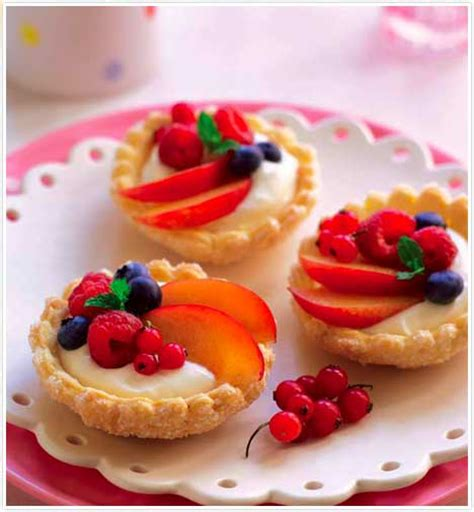 individual mixed fruit tarts keeprecipes  universal