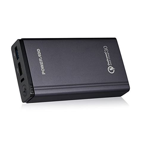Power Bank Poweradd Qualcomm portable power banks qualcomm certified charge 3 0 fast and portable poweradd 10050mah