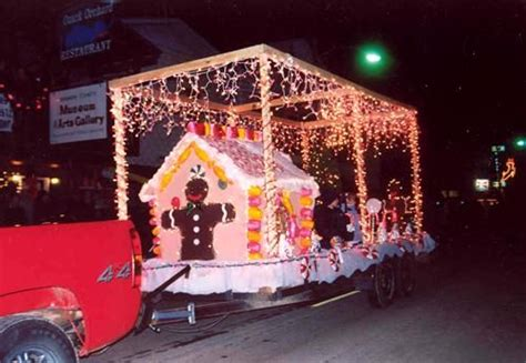 lighted christmas parade ideas 17 best images about gingerbread sized on