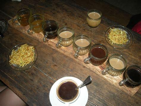 Kopi Coffee Bean kopi luwak through tinted glasses