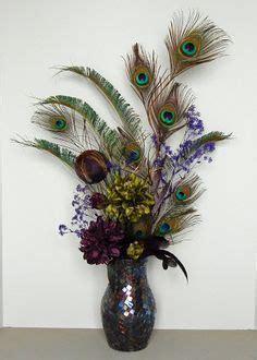 silk peacock home decor details about artificial flower arrangement peacock