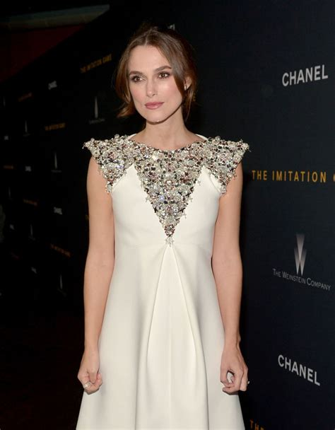 Gamis Fashion Chanel keira knightley in chanel couture at the quot the imitation quot la screening fashionsizzle