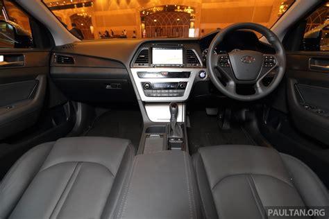 Car Interior Refurbishment Malaysia by 2015 Hyundai Sonata Launched In Malaysia Interior Indian