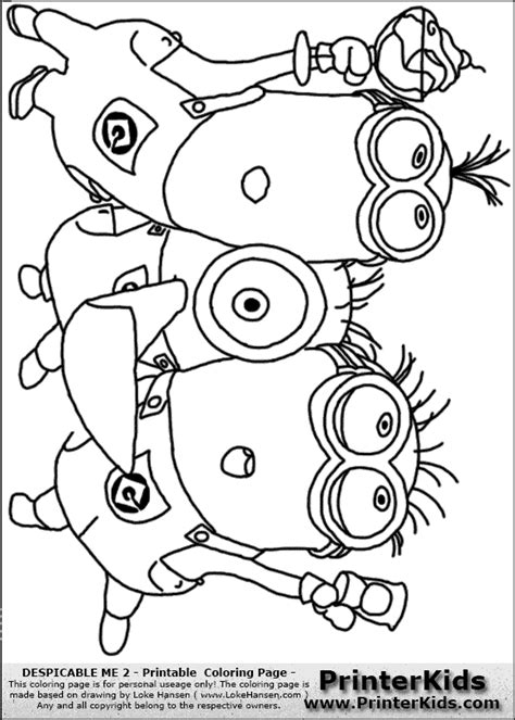 coloring pages of purple minion purple minion coloring pages despicable me 2 minion