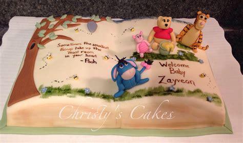 winnie the pooh cake baby shower pooh - Winnie The Pooh Cake Baby Shower
