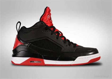 mens nike air jordan flight  sneakers  black red   ebay