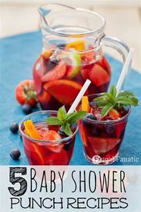 5 baby shower punch recipes frugal fanatic