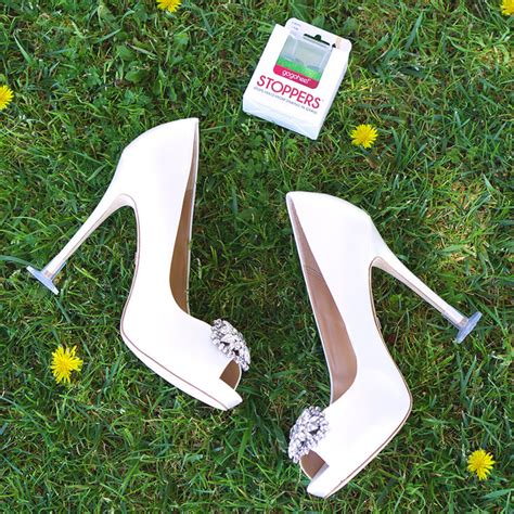 How To Stop Heels From Sinking In Grass stoppers heel protectors stop sinking into grass