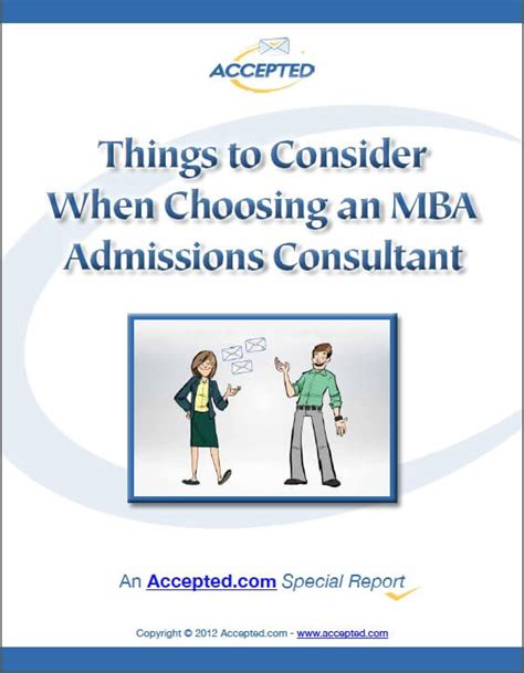 Mba Admission Consultant For Non College by Choosing The Best Mba Admissions Consultant The Inside Scoop