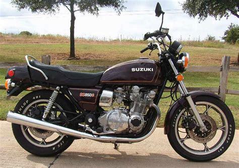 1980 Suzuki Gs850 1980 Suzuki Gs 850 G Moto Zombdrive