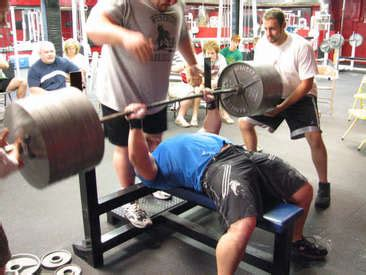 bench press hypertrophy world record for bench press raw