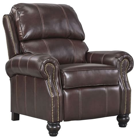 Low Leg Recliner by Glengary Chestnut Low Leg Recliner 3170030