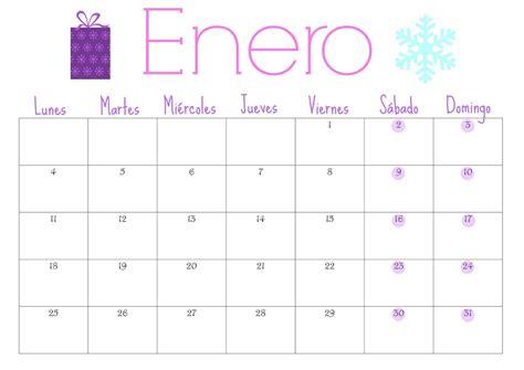 Calendario De Enero 2017 Espero Que Os Guste Y Que Pas 233 Is Una Buena Nochevieja
