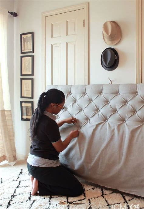 how to make a material headboard best 25 sophisticated bedroom ideas on pinterest