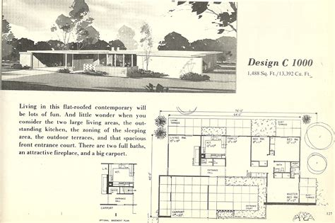 1960s house plans vintage house plans 1000 antique alter ego