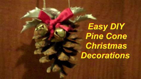 and easy ornaments and easy pine cone decorations
