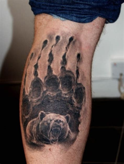 tattoo pictures bear paws 17 of 2017 s best bear paw tattoos ideas on pinterest