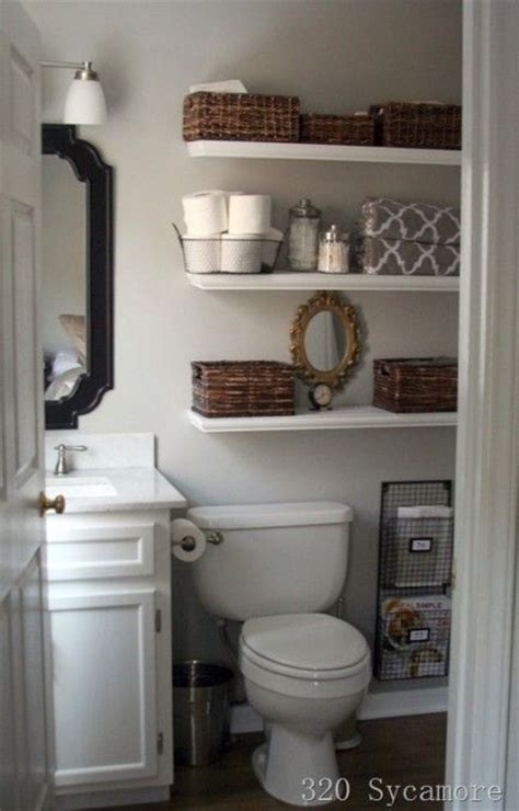 Organizing Bathroom Ideas 8 Genius Ways To Organize Your Small Bathroom Small Bathrooms Shelves And White Shelves