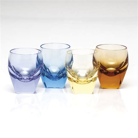 moser barware moser bar shot glass set of 4 187 paris jewelers gifts
