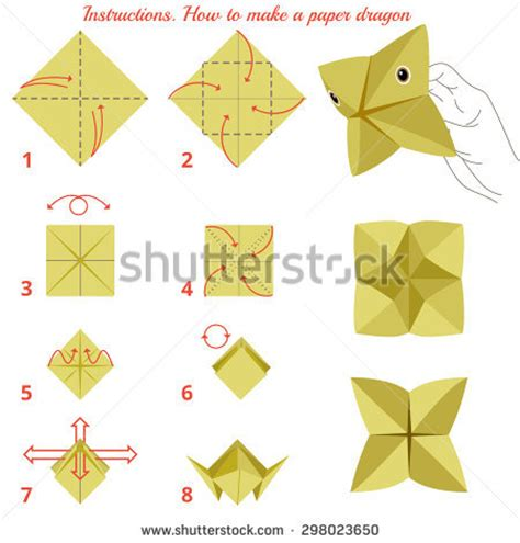How To Make Animal Paper - instruct stock photos images pictures