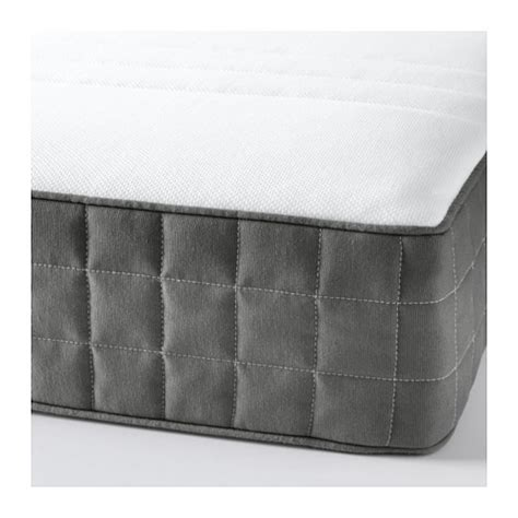 h 214 v 197 g pocket sprung mattress firm grey standard