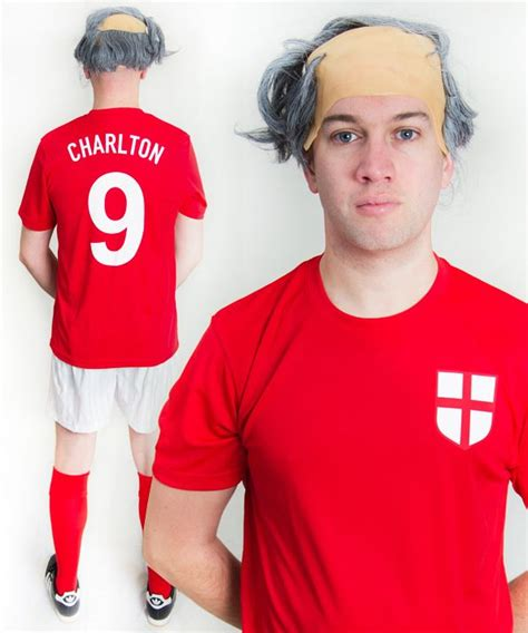 Bobby Dress bobby charlton 1966 football fancy dress costume