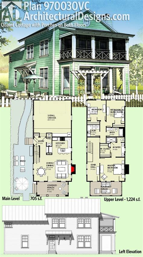 best design narrow lot beach house plans architecture 17 best ideas about cottage house plans on pinterest