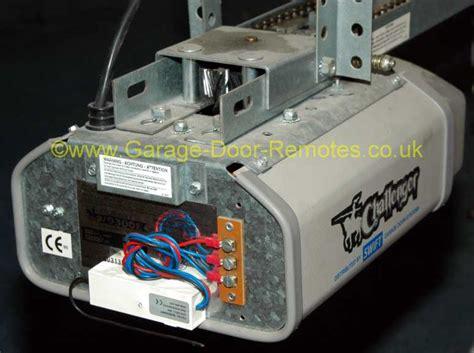 Challenger Garage Door Opener by Remote System Upgrade Kit For Challenger Garage