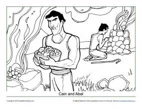 cain and abel coloring pages cain and abel coloring page children s bible activities
