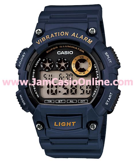Jam Tangan Original Casio W 59 1vq jam tangan casio grosir