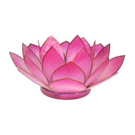 teelichthalter windlicht lotusbl 252 te teelichthalter windlicht pink rosa lotus bl 252 te