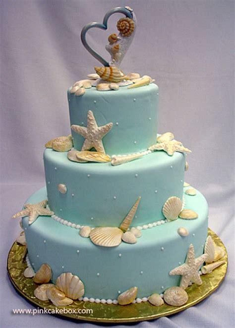unique wedding cake  beach ideas   wedding