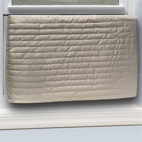 Wall Air Conditioner Cover Interior by King E O 20 In X 28 In Inside Quilted Fabric