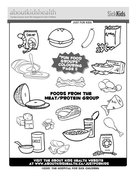 foods from the meat and protein food group great