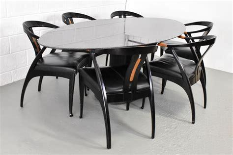 eethoek stoelen 6 giorgetti eethoek met 6 stoelen catawiki