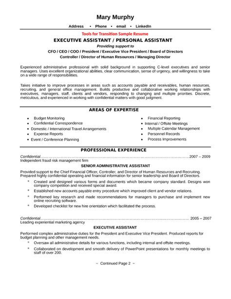 Sle Executive Assistant Resumes Free by L R Administrative Assistant Resume 28 Images Sle