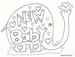 new baby free coloring pages on art coloring pages