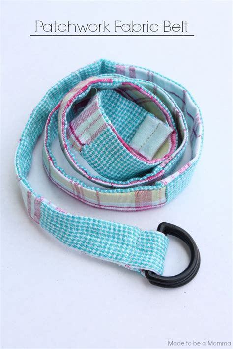 Patchwork Belt - patchwork fabric belt diy club chica circle where
