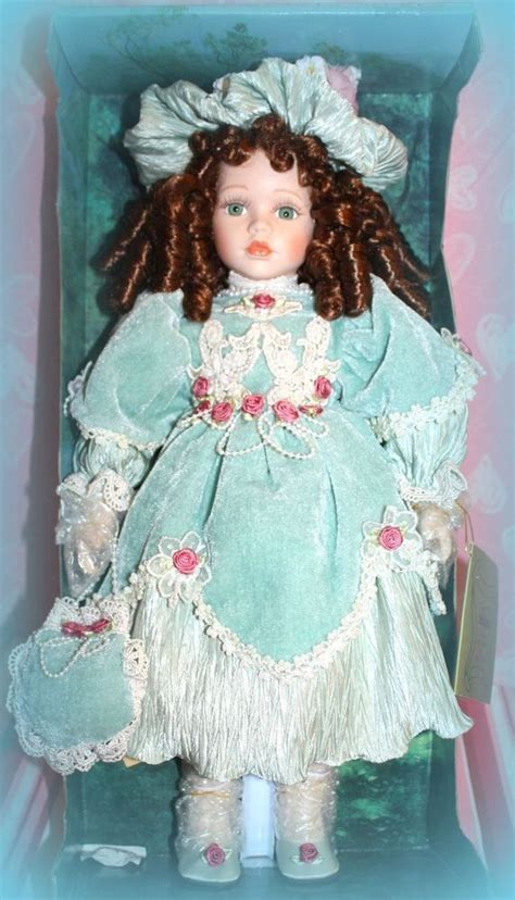 porcelain doll julie new seymour mann connoisseur collection 19 quot julie