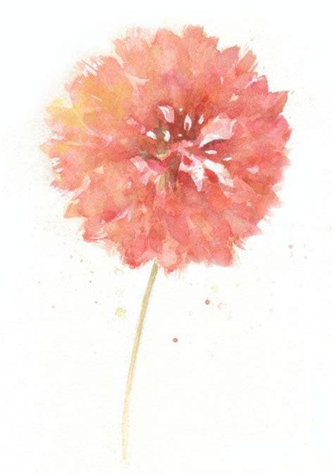 flower tattoo etsy flower flower print art watercolor art print by chifungw