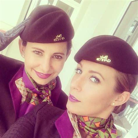 stylish cabincrew etihadcrew selfie crewfie crewlife travel