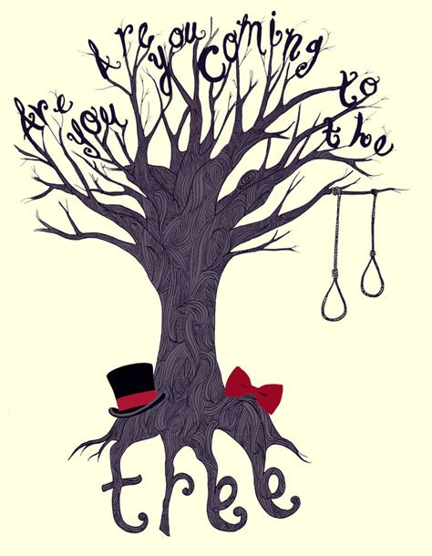 the hanging tree the the hanging tree by nellmeowmeow on