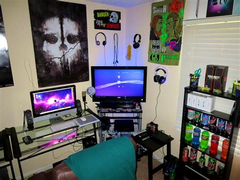 bedroom game room ideas bedroom stunning epic gaming room tour setup small ideas