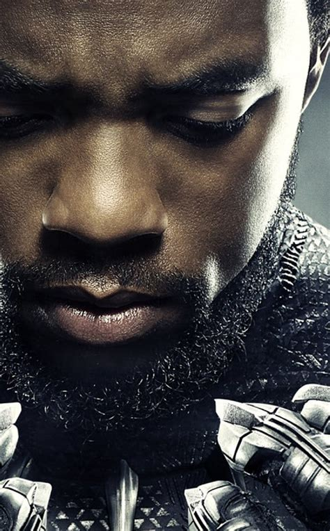 chadwick boseman  black panther full hd wallpaper