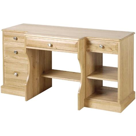 Products Cambridge Pine Oak Study Desk
