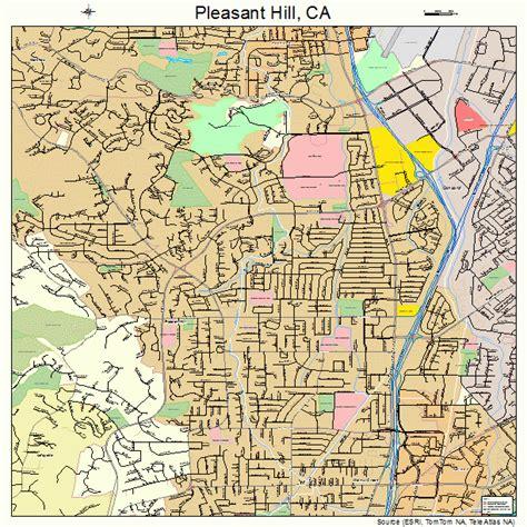 pleasant hill california street map 0657764