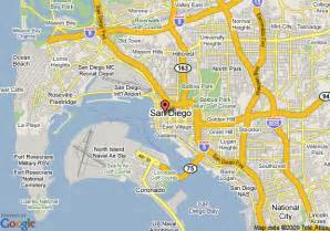 Map San Diego by Map Of W San Diego San Diego
